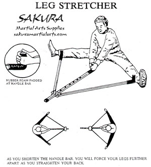 Sakura Martial Arts Leg Stretcher