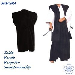 Martial Arts Supplies Samurai Warrior Uniform Halloween Costume and Accessories