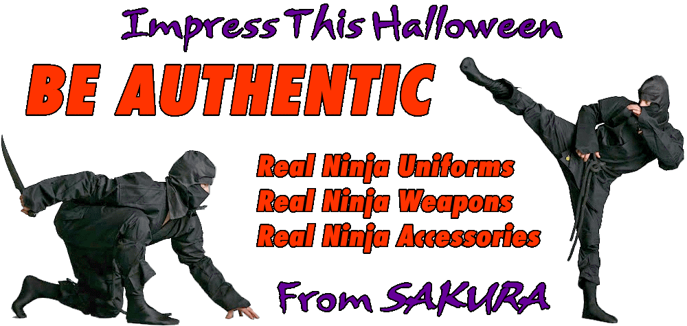 Authentic Ninja Ninjutsu Uniforms